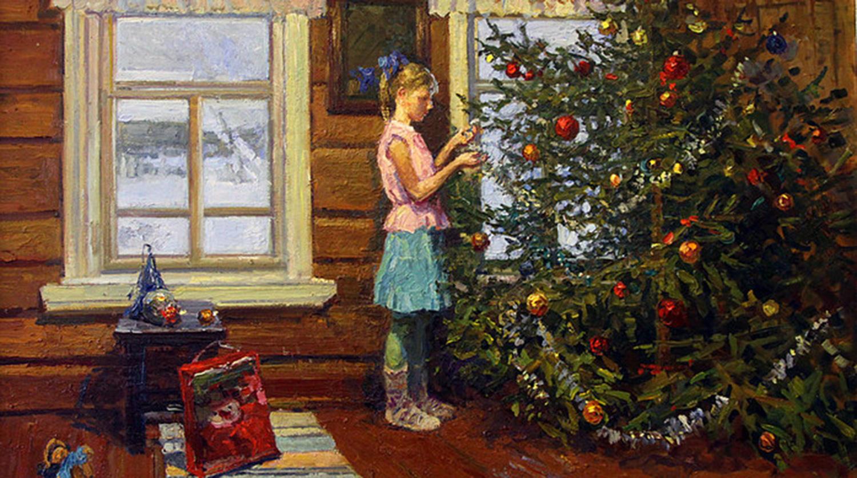 История русской елки и новогодних украшений