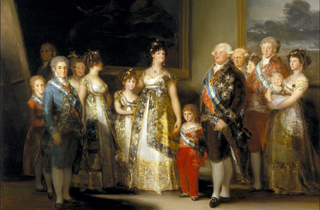 Странный портрет Карла IV и